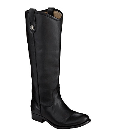 Frye Melissa Button Wide Calf Boots