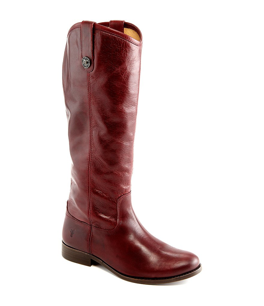 Frye Melissa Button Wide-Calf Boots