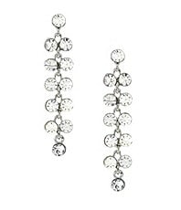 Anna & Ava Crystal Bubbles Linear Earrings