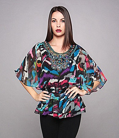 Calessa Beaded Blouse