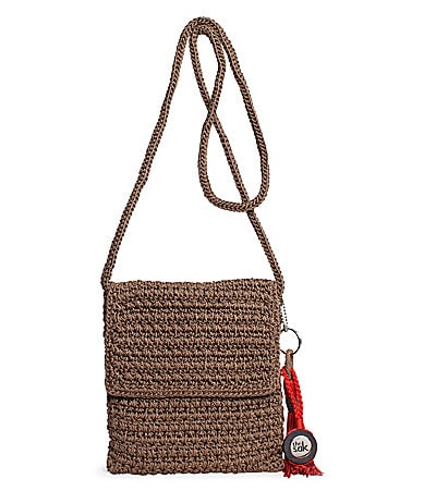 The Sak Crochet Flap Shoulder Bag