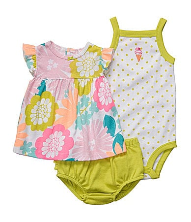 Carter�s Floral & Dots 3-Piece Set