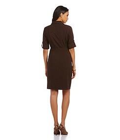 MICHAEL Michael Kors Belted Dress
