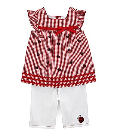 Starting Out Newborn Gingham Ladybug Set