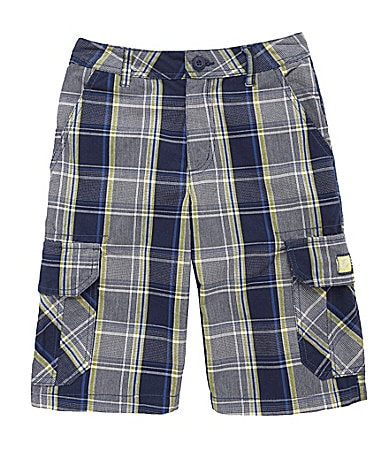 Ecko 8-20 Plaid Shorts