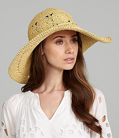 Kate Landry Crochet Floppy Hat