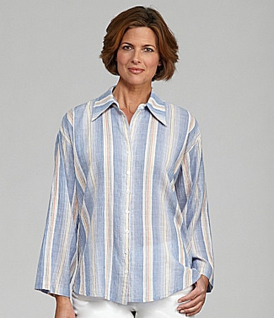 Finley Couluer Weekender Stripe Blouse