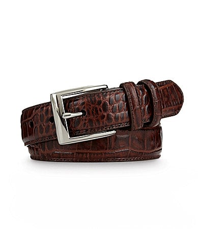 Polo Ralph Lauren Big & Tall Faux Crocodile Belt