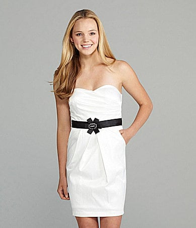 I.N. San Francisco Strapless Dress