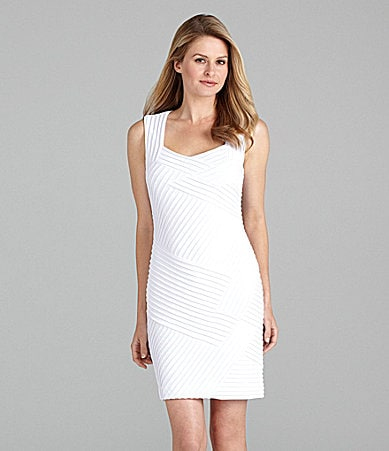 Calvin Klein Sleeveless Matte Jersey Dress