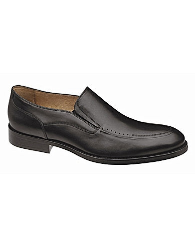 Johnston & Murphy Men�s Tyndall Moc Venetian Dress Shoes