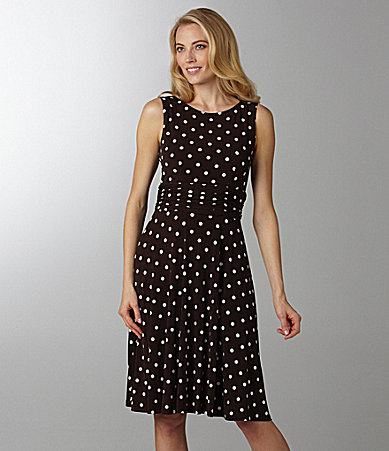 Jessica Howard Polka-Dot Dress