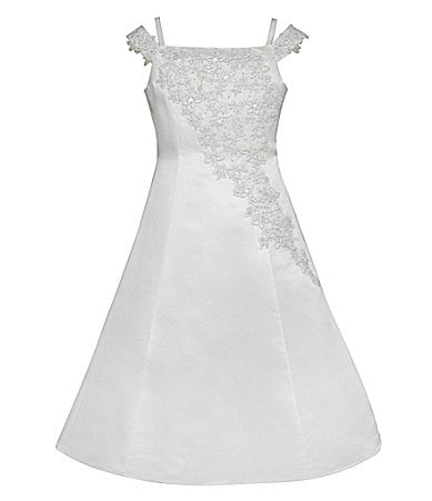 American Princess 7-12 Off the Shoulder Bridal Lace Dress