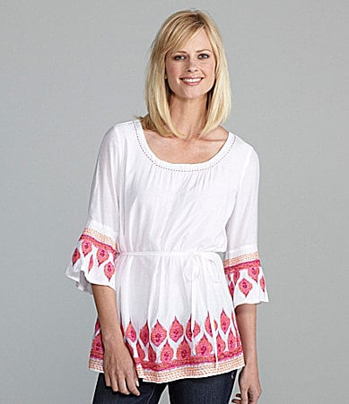 Sharon Young Embroidered Tunic