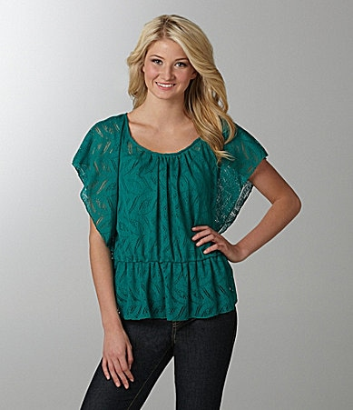 Soulmates Lace Dolman Top