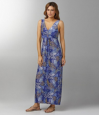 Half Moon Eclipse by Modern Movement Birds of a Feather Lounge Maxi Dress