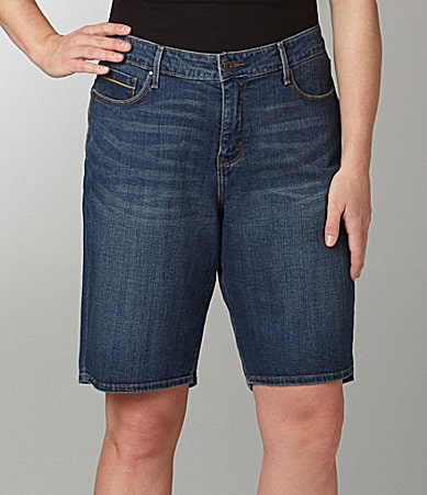 Levi�s Plus 512 Bermuda Shorts