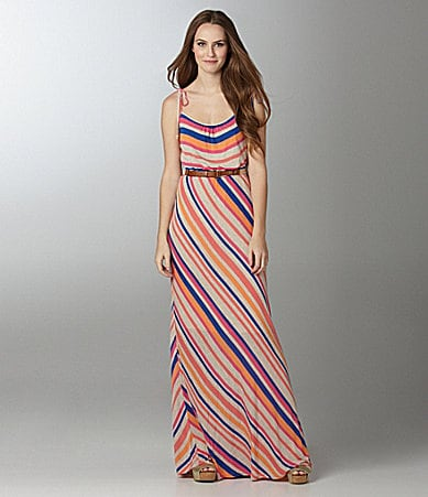 Willow & Clay Stripe Maxi Dress