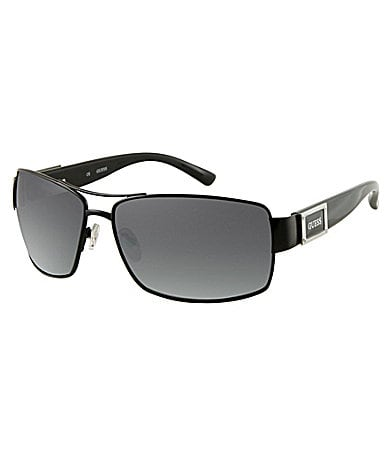 Guess Full Metal Frame Navigator Sunglasses