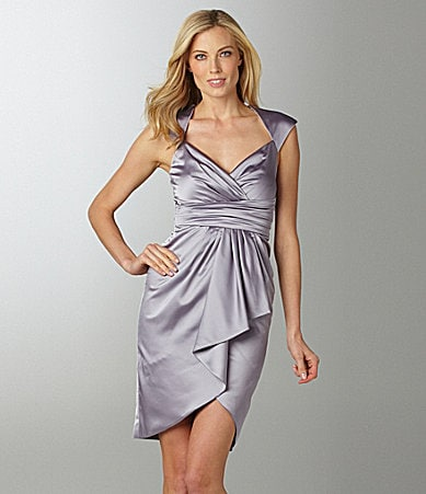 Maggy London Satin Party Dress