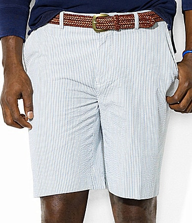Polo Ralph Lauren Big & Tall Clubhouse Seersucker Shorts