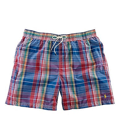 Polo Ralph Lauren Big & Tall Hawaiian Swim Boxer Shorts