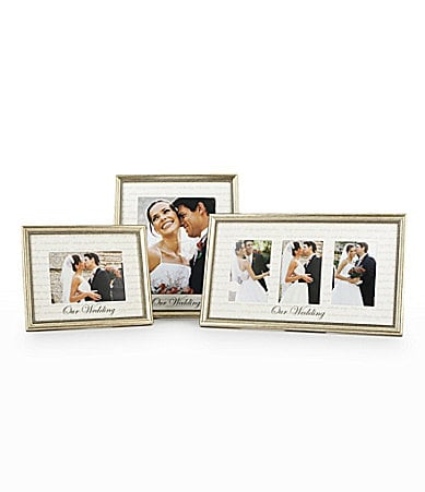 Prinz Platinum Our Wedding Picture Frame