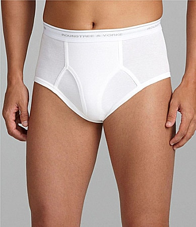Roundtree & Yorke Big & Tall Full Briefs 3-Pack