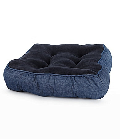 Cremieux Denim Pet Bed