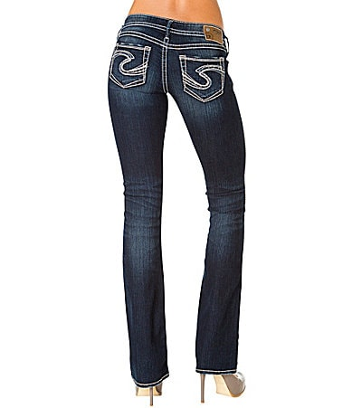 Silver Jeans Co. Twisted Bootcut Jeans