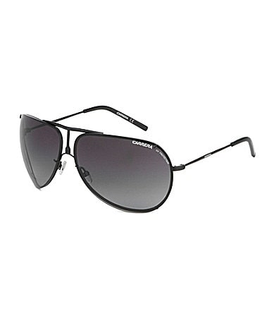 Carrera Metal Rim Aviator Sunglasses