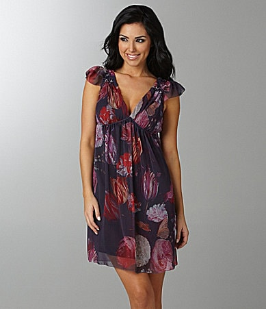 Buffalo David Bitton Rafaela Floral-Print Dress