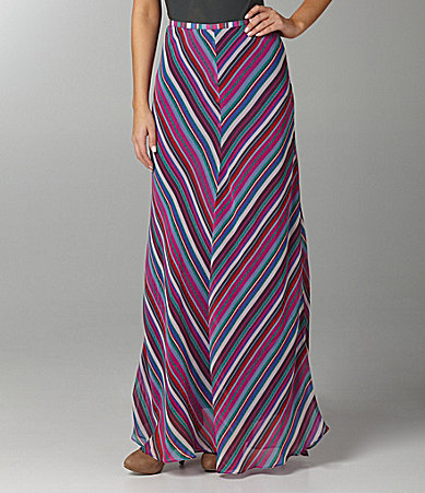 Buffalo David Bitton Bucky Stripe Long Skirt