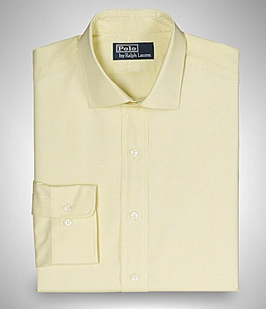 Polo Ralph Lauren Estate-Collar Checked Dress Shirt