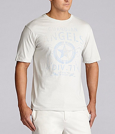 Cremieux Jeans Guardian Angels Printed Tee