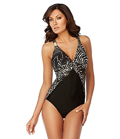 Fantasizer Ocean Lounge One Piece Swimsuit