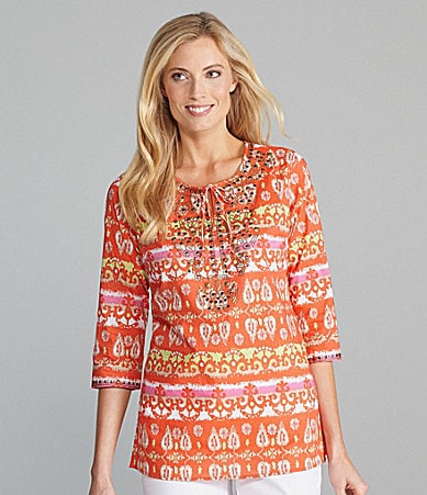 Multiples Printed Tunic