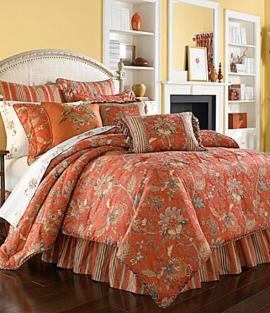 J Queen New York Coral Springs Bedding Collection