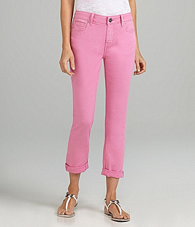 DKNY Jeans Soho Colored Cropped Skinny Jeans