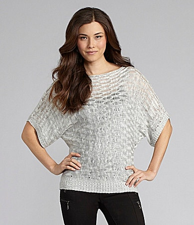Chelsea & Violet Pointelle Sweater