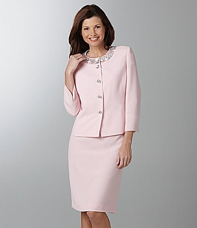 Kasper Woman 2-Piece Skirted Suit