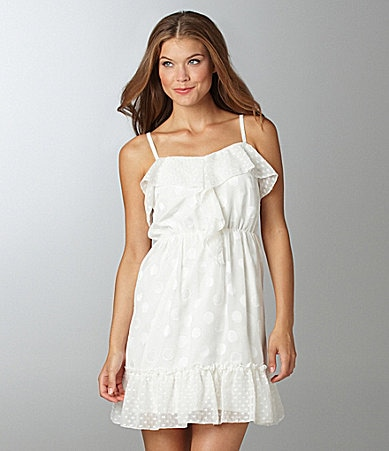 Jessica Simpson Ruffle Dress