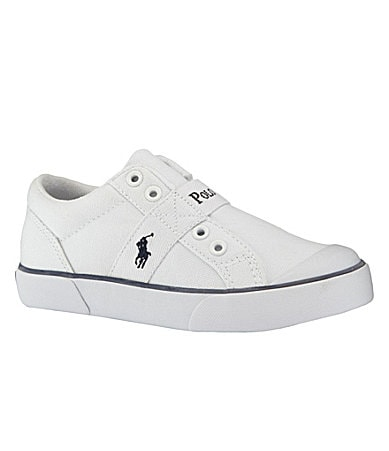 Polo Ralph Lauren Boys Gardener Casual Slip-On Sneakers