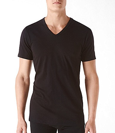 Calvin Klein 3-Pack Slim-Fit V-Neck Tees