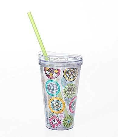 Formation Medallion Hot/Cold Tumbler with Lid and Straw