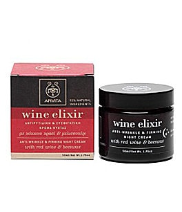 Apivita Wine Elixir Anti-Wrinkle And Firming Night Cream For Face