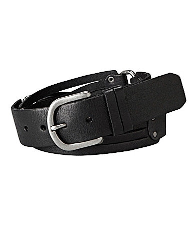 Fossil Rectangle Connectors Belt
