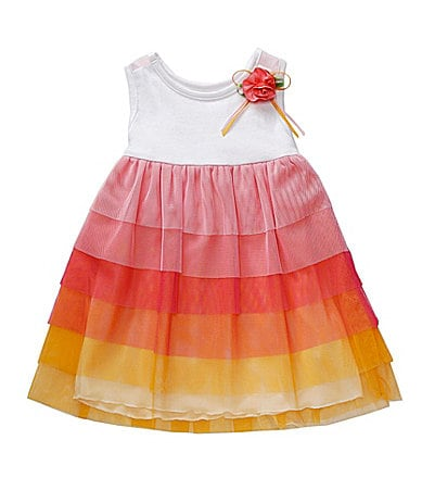 Sweet Heart Rose Toddler Ombre Tiered Dress