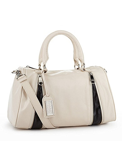Badgley Mischka Maya Shine Bowler Satchel