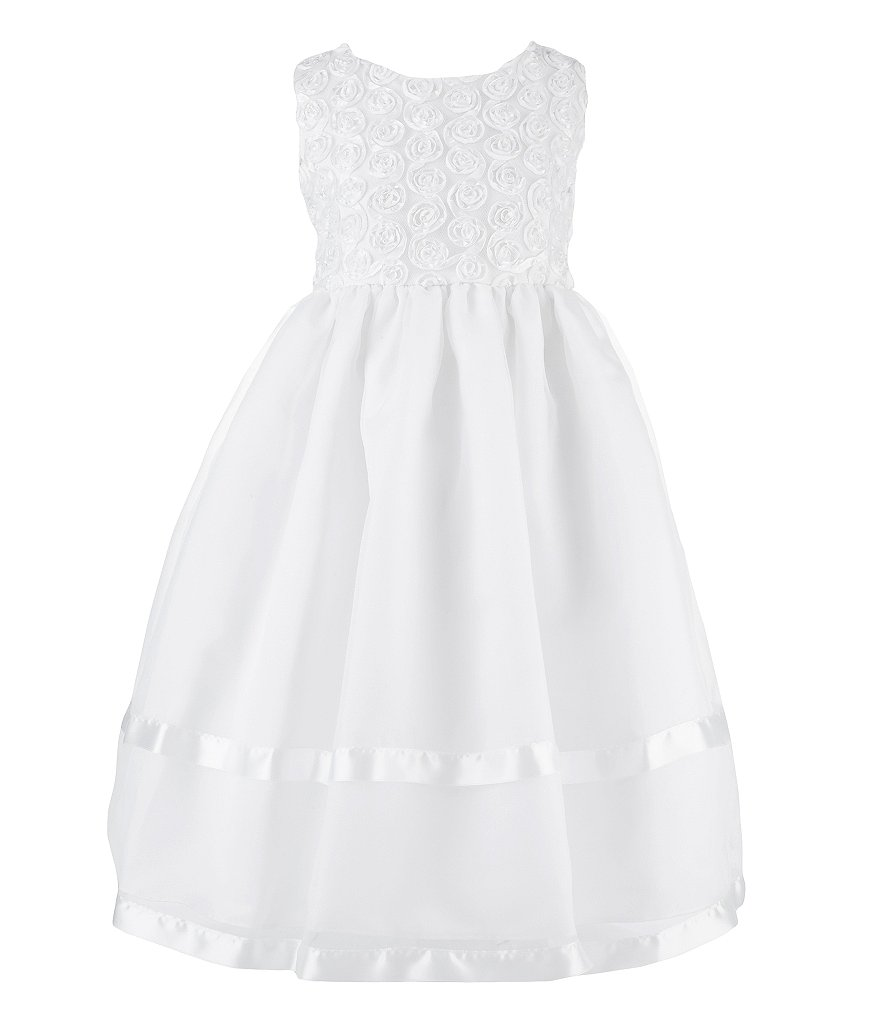 Jayne Copeland 2T-6X Organza Dress